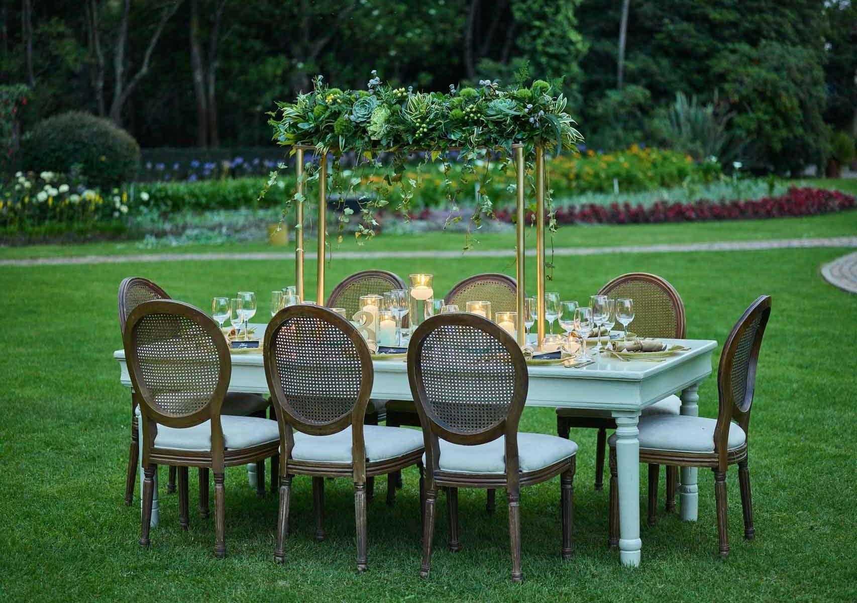 Disfruta de tu boda con la mejor decoración