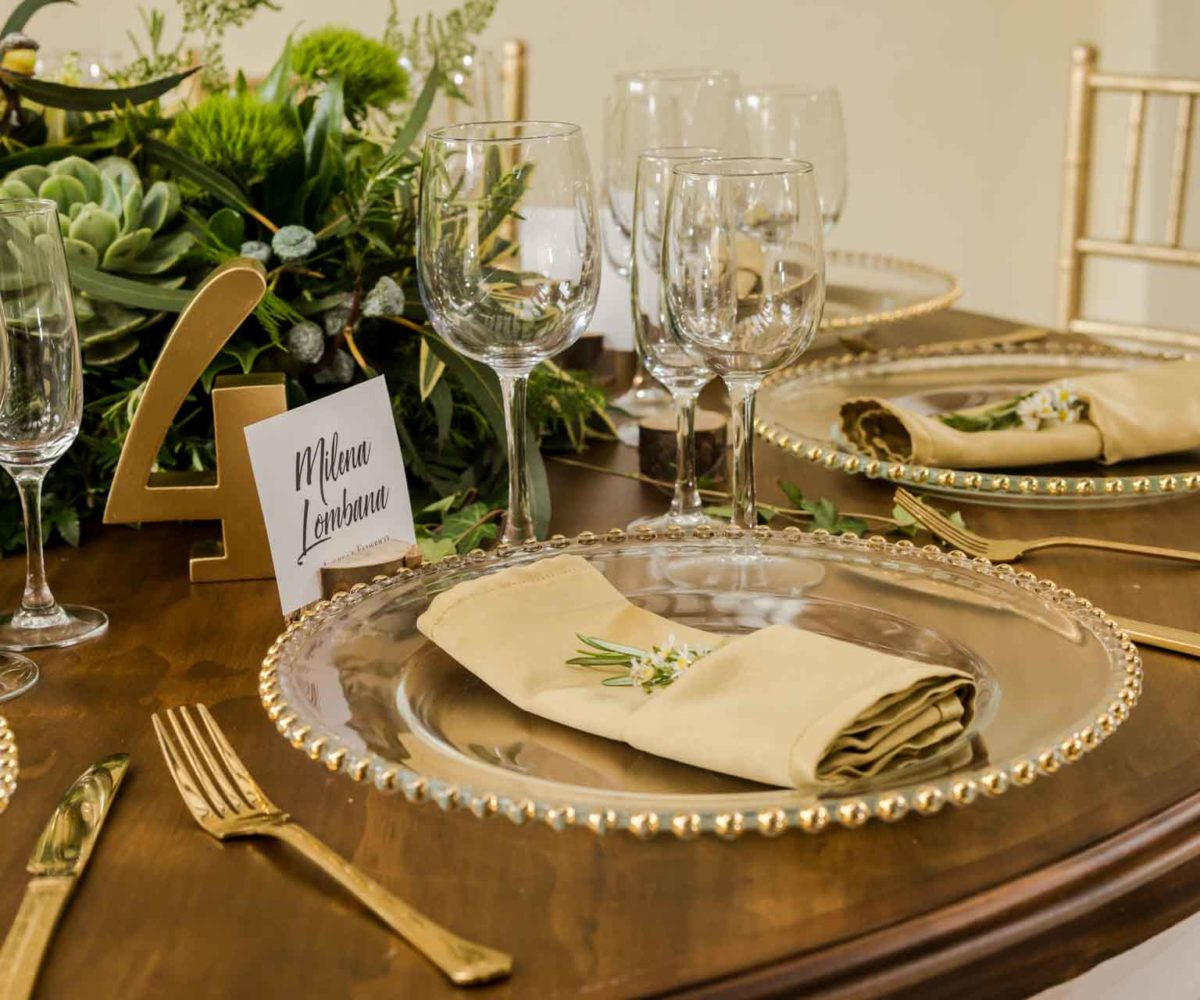 tenemos toda variedad de Platos para decorar tu evento