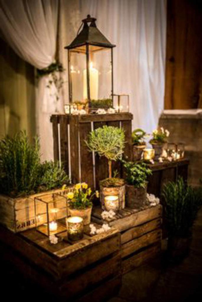 centros de mesa para boda sencillos y elegantes