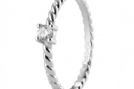 Anillo con diamantes bogotá Precios