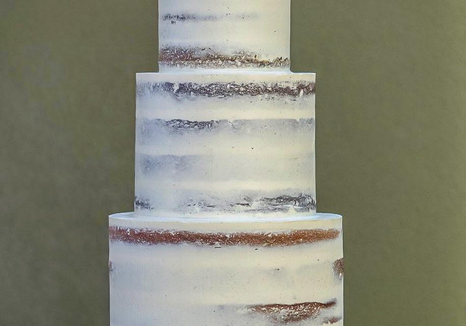 Weeding Cake pastel