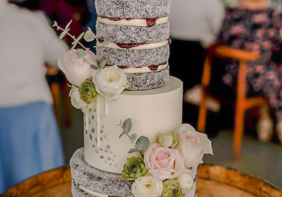 Torta para matrimonios